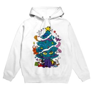 CALL MOLA 《Christmas tree》 Hoodies