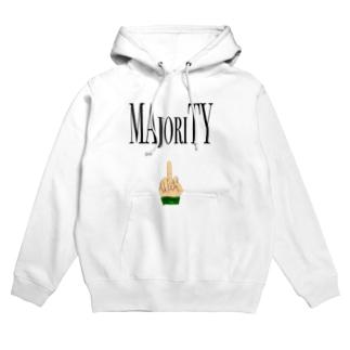 MAjoriTY Hoodies