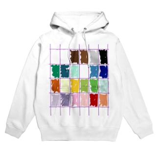 my pallet pattern Hoodies