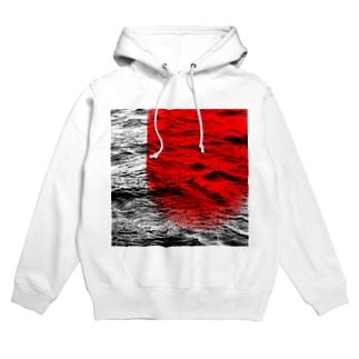 fine art 2(red) Hoodies