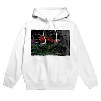 Digital_Leaf Hoodies