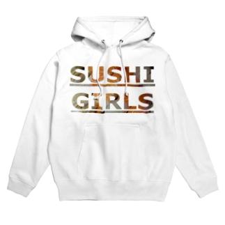 SUSHI GIRLS Hoodies
