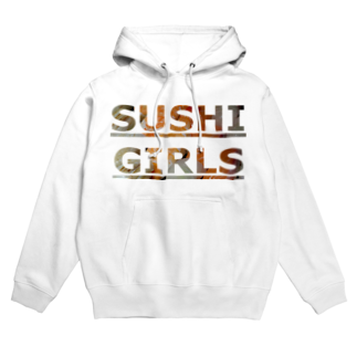 SANGOLOWARTZのSUSHI GIRLS Hoodies