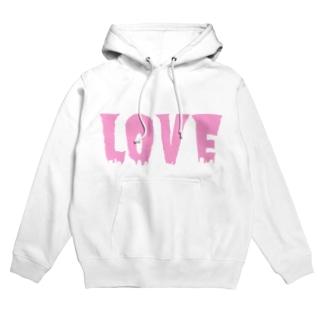 Pink LOVE    Hoodies