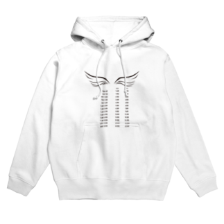 wlmのPOINTS WING Hoodies