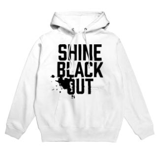 BLACK OUT Hoodies