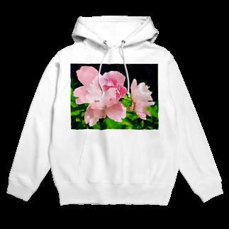 yunyunlivvyの大輪の花 Hoodies