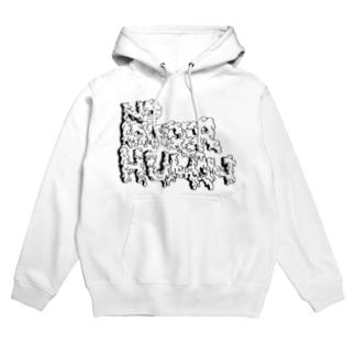 NoLongerHuman 1st Line Hoodies