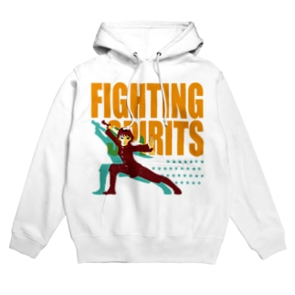 戦う少女~FIGHTING SPIRITS~ Hoodies
