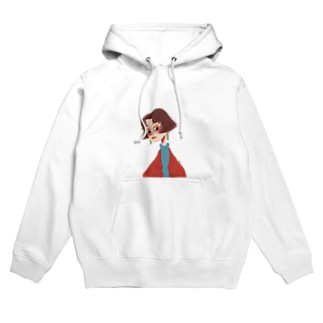 girl.2 fd Hoodies