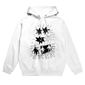 POP ART (we are We Are) Hoodies