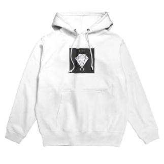 Simple is Diamond Hoodies