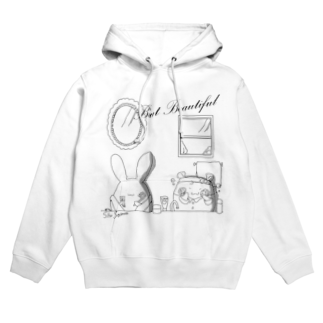 BabyShu shopのBut Beautifulシリーズ Hoodies