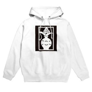 Brain Crafts_kirigami #01(white) Hoodies