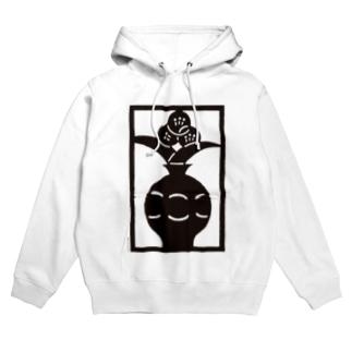 Brain Crafts_kirigami #01(black) Hoodies