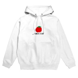 トマトクラブ Hoodies
