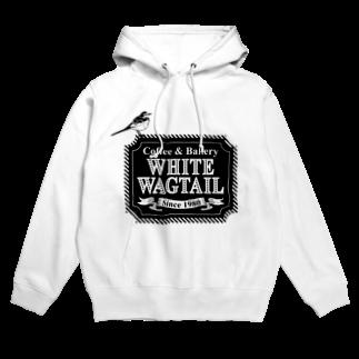 mimimのWhite Wagtail Coffee & Bakery Hoodies