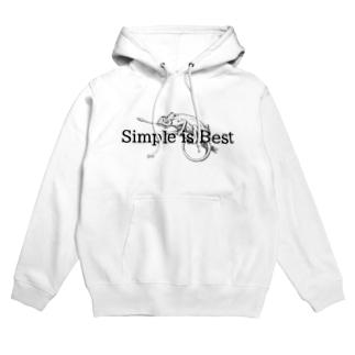 simple is best Hoodies
