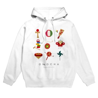 OMOCHA〜Japanese traditional toy〜 Hoodies