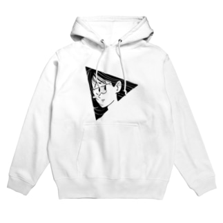 TRIANGLE GIRL Hoodies