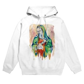 #420 - Stoned Mary復刻版 Hoodies