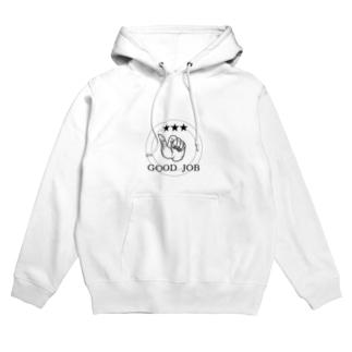 GOOD JOB Hoodies