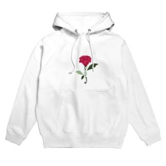 rose Hoodies