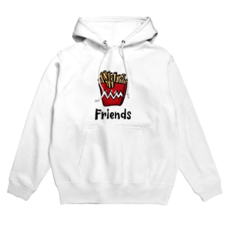 POTATO FRIENDS Hoodies
