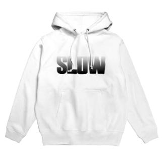 SLOW Hoodies