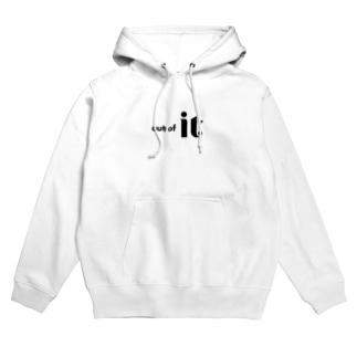 out of it Hoodies