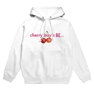cherry boy's BE・・・ Hoodies