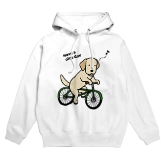bicycleラブ イエロー Hoodies
