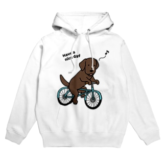 bicycleラブ チョコ Hoodies