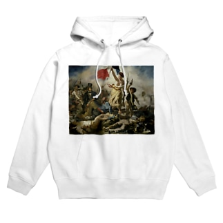 民衆を導く自由の女神 / ウジェーヌ・ドラクロワ(La Liberte guidant le peuple 1830) Hoodies