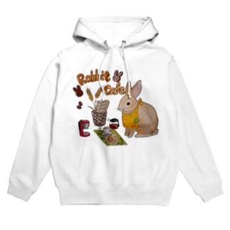 Rabbit Cafeグッズ Hoodies