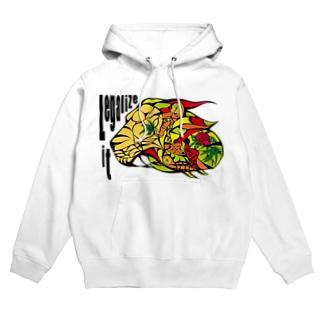 AKRstyle - JAH LION Hoodies
