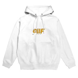 cilF  (ロゴのみ) Hoodies