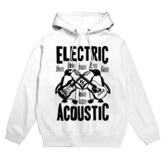ELECTRIC×ACOUSTIC PENGUIN Hoodies