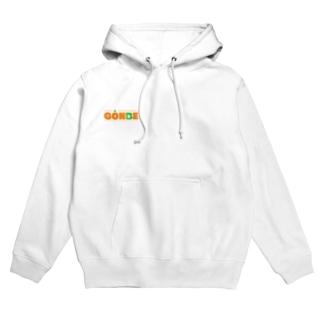 GONBE ロゴ風 Hoodies