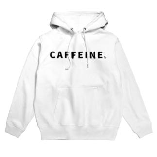 CAFFEINE.ロゴ Hoodies
