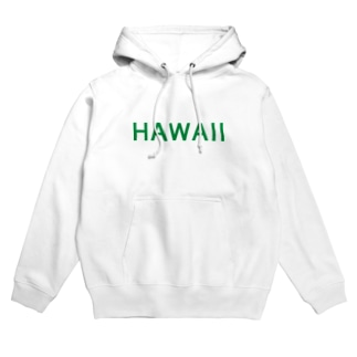JUST HAWAII (GREEN) Hoodies