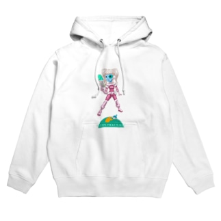 ESCAPE FROM PLANET Hoodies