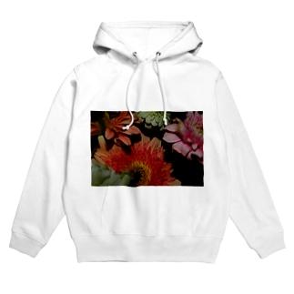 花#1 Hoodies