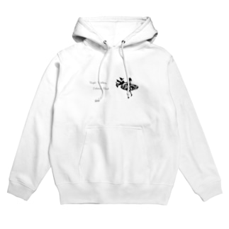 Night Walker「夜空の二人」 Hoodies