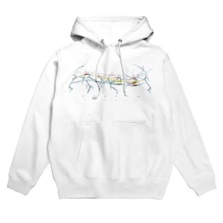 HAKANA wave Hoodies