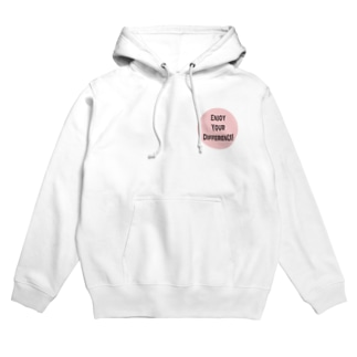 Enjoy Your Difference! Hoodies