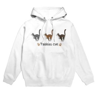 Tabbies Cat(マッカレル) Hoodie