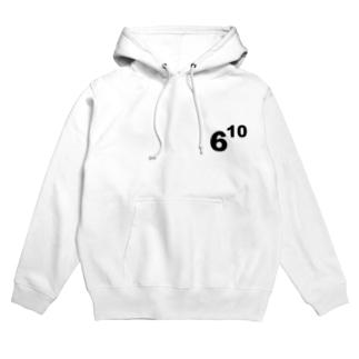 610(ムトウ) Hoodies