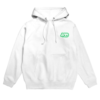420 simple logo Hoodies