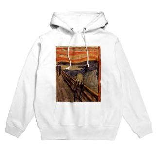 ムンク / 叫び / The Scream / Edvard Munch /1893 Hoodies
